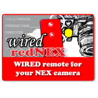 WIRED redNEX - NEX  Wired Remote